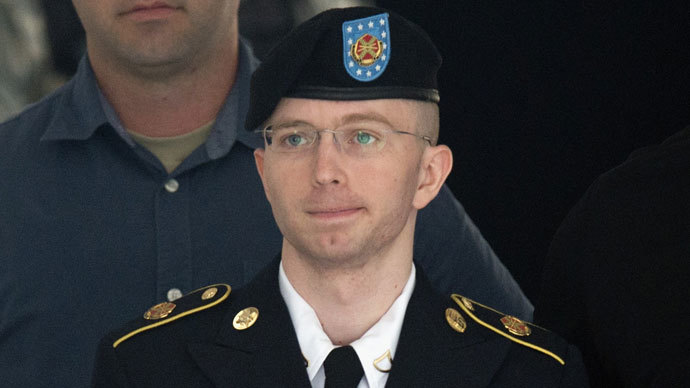 Bradley Manning.(AFP Photo / Saul Loeb)