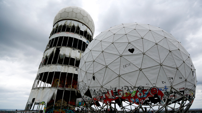Broken antenna covers of Former National Security Agency (NSA) listening station are seen at the Teufelsberg hill (German for Devil's Mountain) in Berlin (Reuters / Pawel Kopczynski)