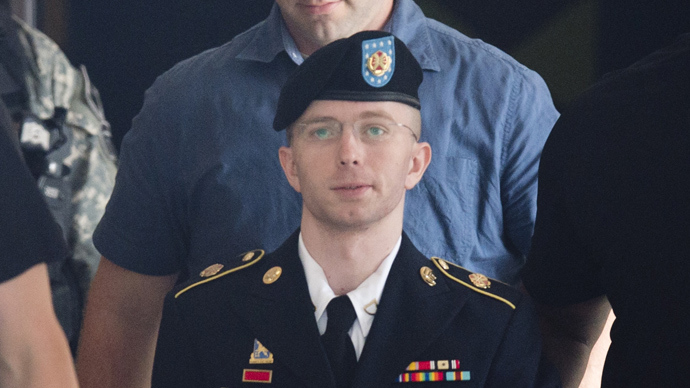 US Army Private First Class Bradley Manning (AFP Photo / Saul Loeb)