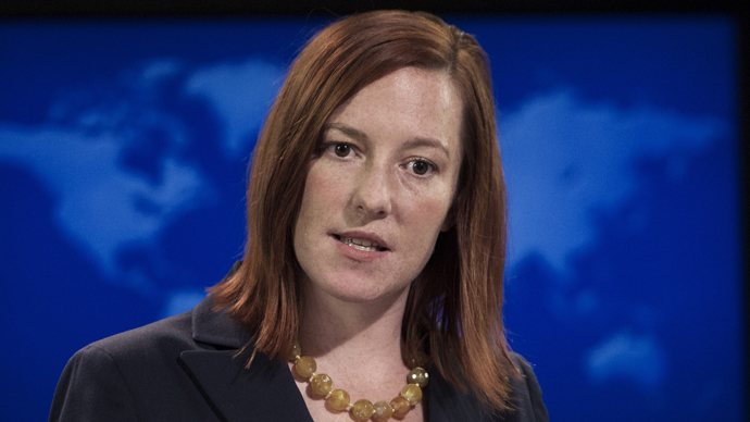 Jen Psaki (AFP Photo / Paul J. Richards)