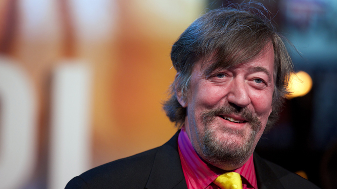 British actor Stephen Fry (AFP Photo)