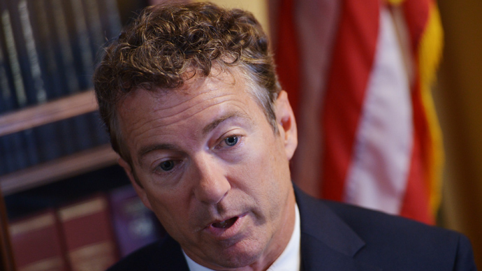 US Senator Rand Paul (AFP Photo)