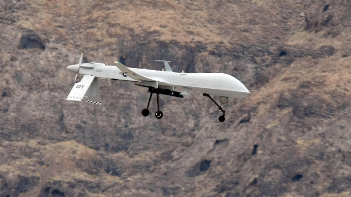 MQ-1B Predator unmanned aircraft (AFP Photo)