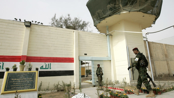 Baghdad Central Prison in Baghdad's Abu Ghraib (Reuters/Mohammed Ameen)
