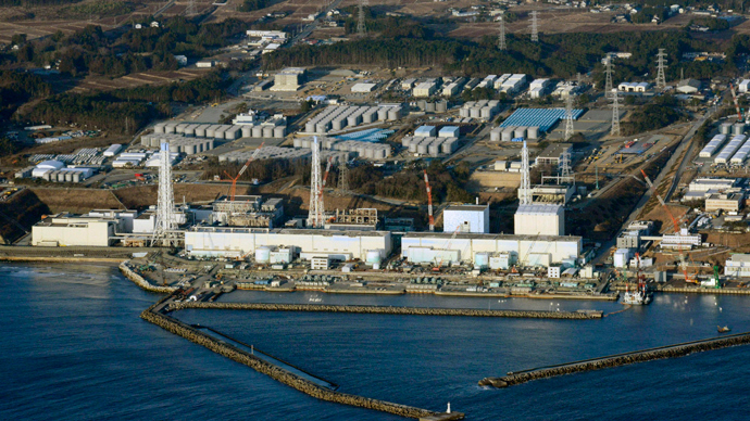 An aerial view shows Tokyo Electric Power Co.'s (TEPCO) tsunami-crippled Fukushima Daiichi nuclear power plant in Fukushima Prefecture (Reuters / Kyodo)