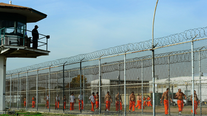Chino State Prison, US (AFP Photo)