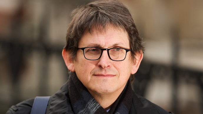 Alan Rusbridger (AFP Photo / Leon Neal)