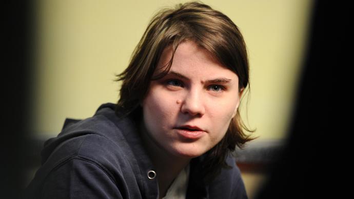 Yekaterina Samutsevich (AFP Photo / Yuri Kadobnov)