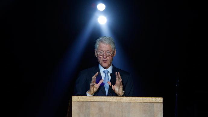Former U.S. President Bill Clinton.(Reuters / Baz Ratner)