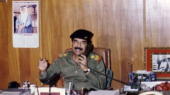 This handout dated 1991 shows toppled leader Saddam Hussein (AFP Photo)