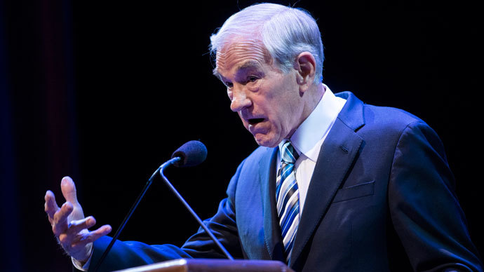 Former US Representative Ron Paul.(AFP Photo / Brendan Smialowski)
