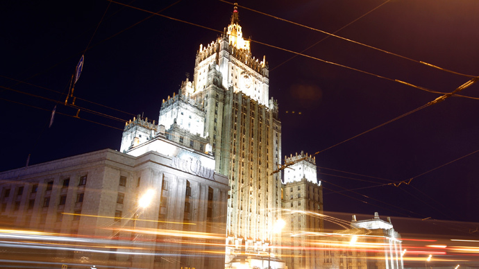The headquarters of the Foreign Ministry of Russia in Moscow (Reuters / Maxim Shemetov)