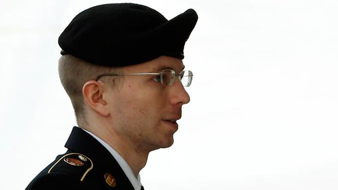 U.S. soldier Bradley Manning (Reuters / Kevin Lamarque)