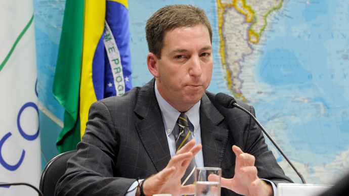 Glenn Greenwald (AFP Photo / Agencia Senado/ Lia de Paula)