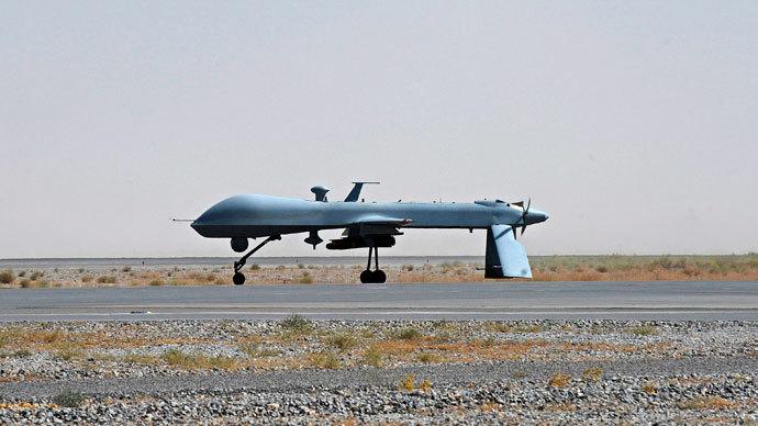 A U.S. Predator unmanned drone.(Reuters / Massoud Hossaini)