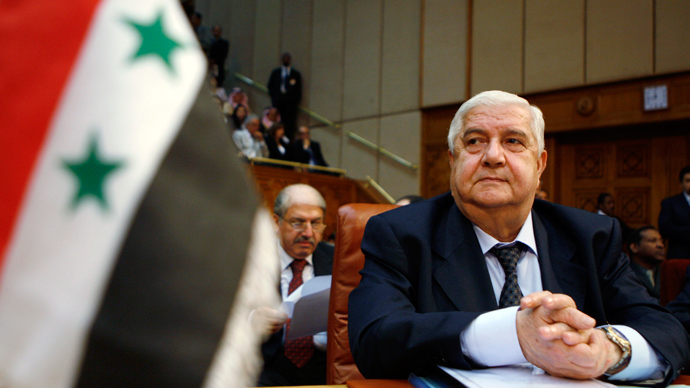 Syrian Foreign Minister Walid Muallem (Reuters / Amr Dalsh)