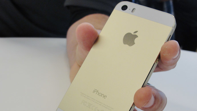 New iPhone 5S (AFP Photo/Glenn Chapman)