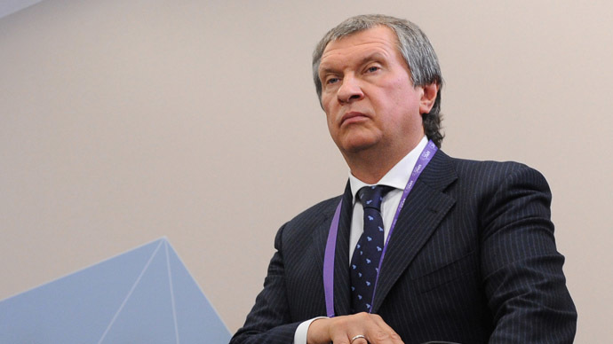 Rosneft President and Chairman of the Board Igor Sechin (RIA Novosti/Alexey Filippov)