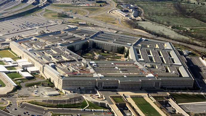 The Pentagon building in Washington, DC. (AFP Photo)