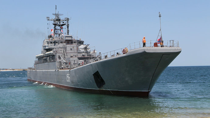 The Yamal large landing craft (RIA Novosti/Alexey Kudenko)