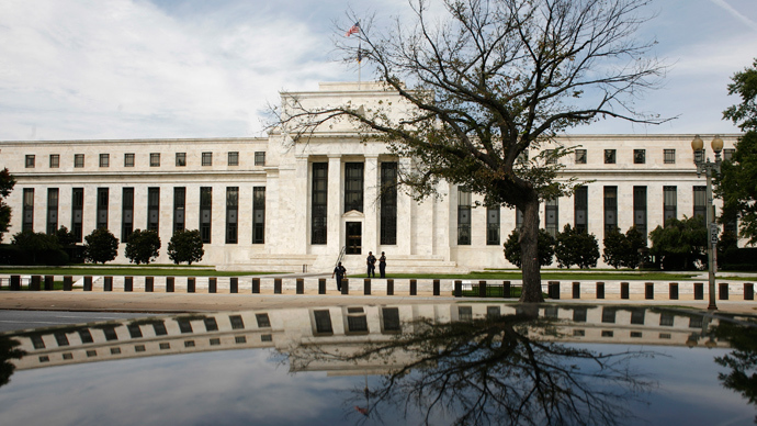 The Federal Reserve Building in Washington (Reuters / Jim Young)
