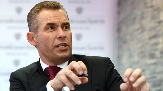 Presidential Commissioner for Children's Rights Pavel Astakhov (RIA Novosti / Alexey Filippov)