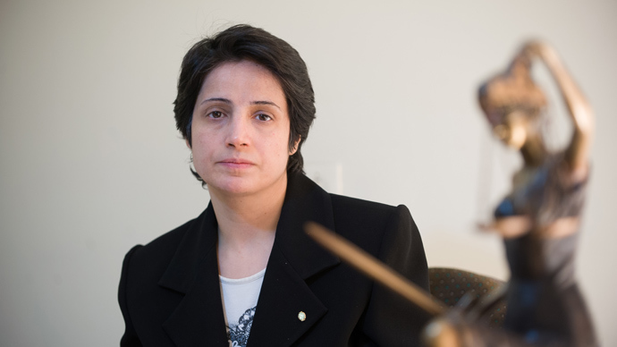 Iranian lawyer Nasrin Sotoudeh (AFP Photo)