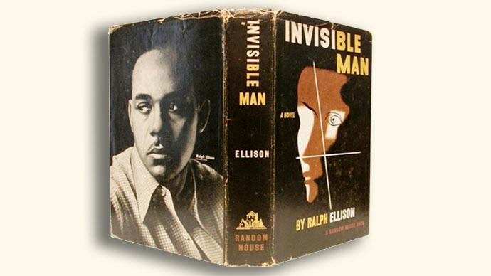 The book 'Invisible Man' written by Ralph Ellison (Image from nigeria.usembassy.gov)