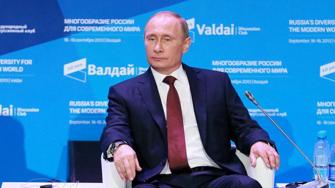 Russian President Vladimir Putin (RIA Novosti/Anton Denisov)