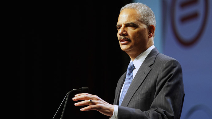 US Attorney General Eric Holder (Reuters/Mark Makela)
