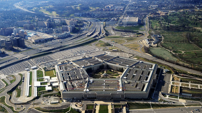 Pentagon building in Washington, DC.(AFP Photo)