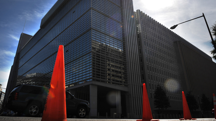 The World Bank Group building (AFP Photo / Tim Sloan)