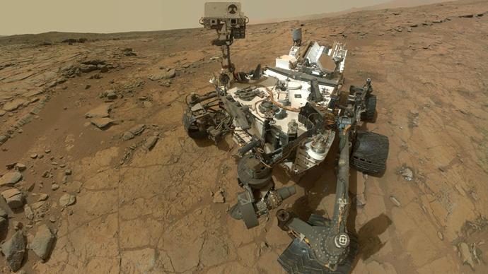 NASA's Mars rover Curiosity (AFP Photo / NASA)