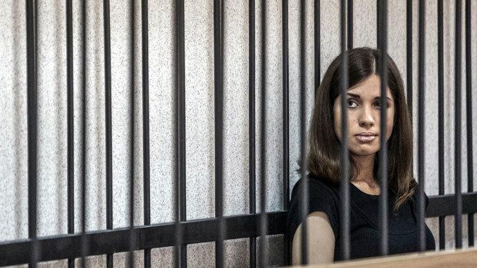 Pussy Riot member Nadezhda Tolokonnikova.(RIA Novosti / Andrey Stenin)