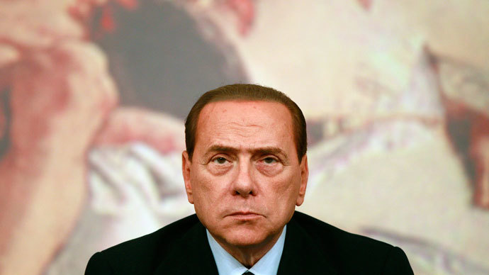 Silvio Berlusconi.(Reuters / Tony Gentile)