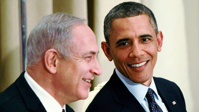 U.S. President Barack Obama is pictured with Israeli Prime Minister Benjamin Netanyahu.(Reuters / Jason Reed)