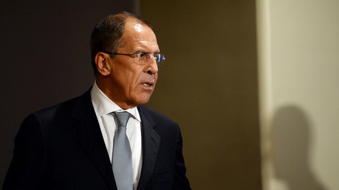 Russia's Foreign Minister Sergei Lavrov.(AFP Photo / Stan Honda)
