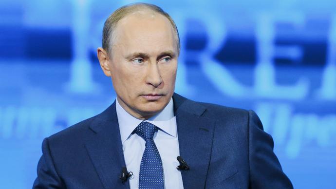 Vladimir Putin (Reuters / Alexei Nikolsky / Ria Novosti / Pool)