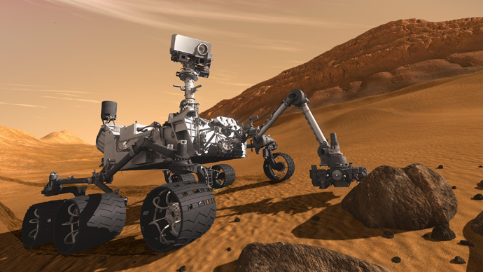 NASA's Mars Science Laboratory Curiosity rover (Reuters / JPL-Caltech)