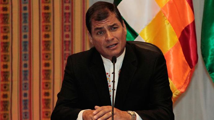 Ecuador's President Rafael Correa (Reuters / David Mercado)