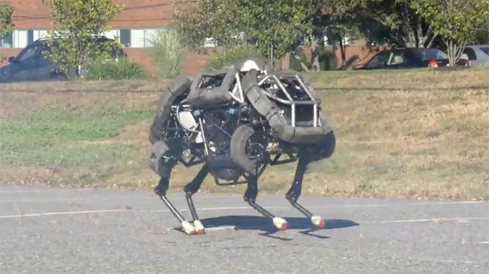 screenshot from youtube video by BostonDynamics