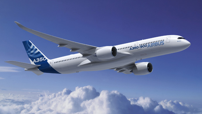 Airbus A350 XWBs (Photo from www.airbus.com)