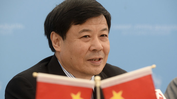 China's Vice Finance Minister Zhu Guangyao (Reuters)