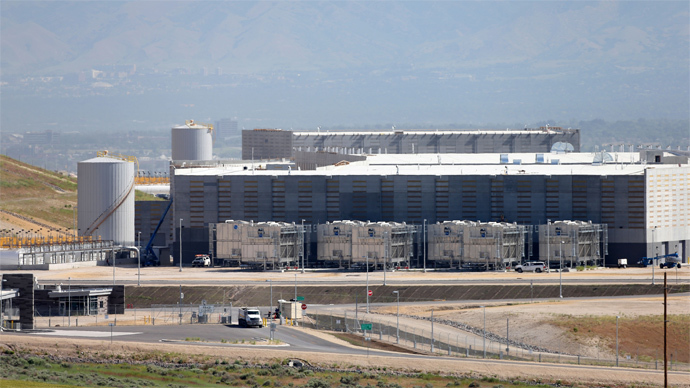 A new National Security Agency (NSA) data center (George Frey / Getty Images / AFP)