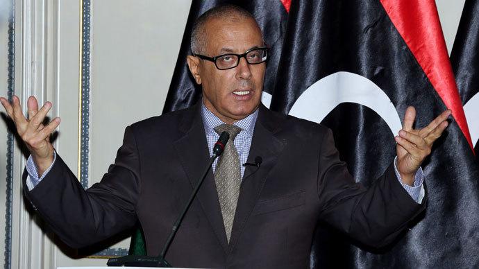 Libyan Prime Minister Ali Zeidan.(AFP Photo / Mahmud Turkia)
