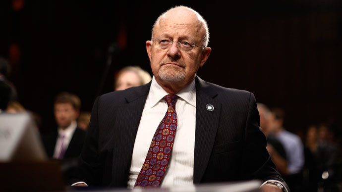 U.S. Director of National Intelligence James Clapper.(Reuters / Jason Reed)