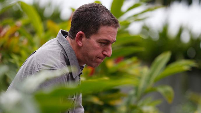 Glenn Greenwald (Reuters / Sergio Moraes)