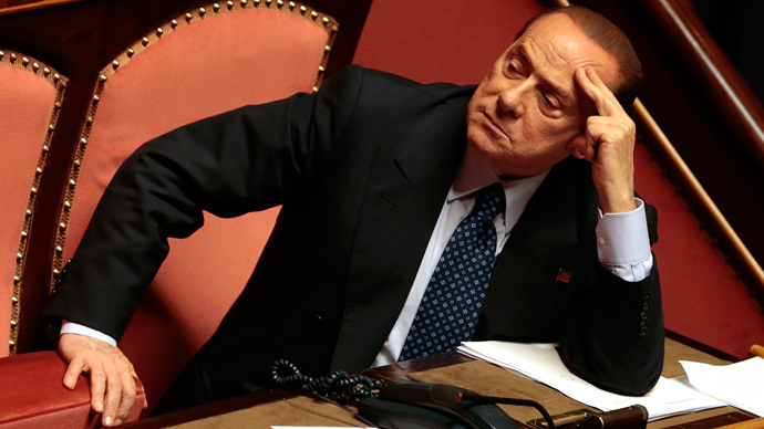 Italian center-right leader Silvio Berlusconi (Reuters / Tony Gentile)