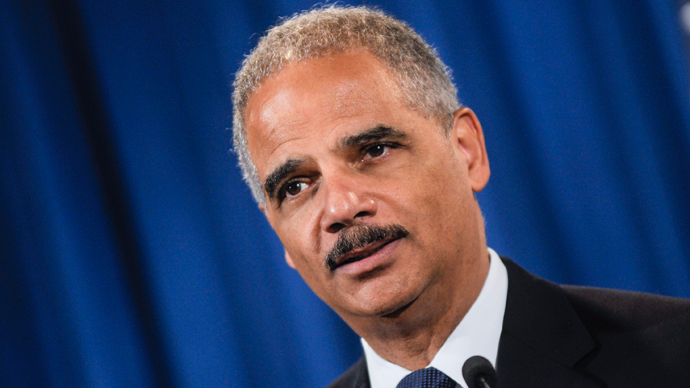 U.S. Attorney General Eric Holder (AFP Photo / Kris Connor)