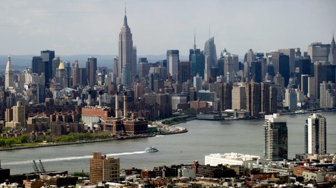 The midtown New York City skyline (AFP Photo/Saul Loeb)